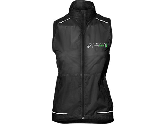 LITE-SHOW VEST, PERFORMANCE BLACK