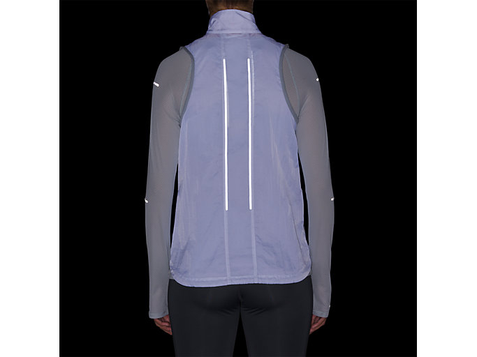 Alternative image view of LITE-SHOW VEST, MID GREY
