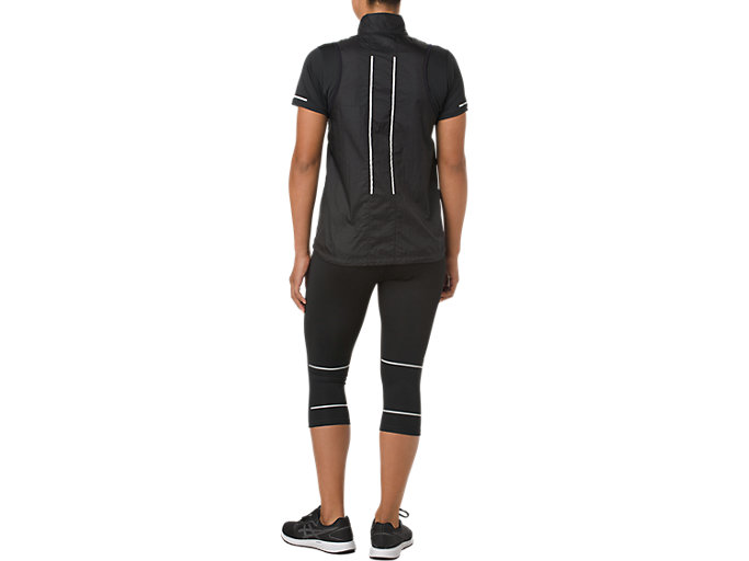 Alternative image view of LITE-SHOW VEST, PERFORMANCE BLACK