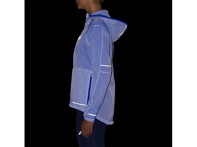 Alternative image view of LITE-SHOW JACKET, ILLUSION BLUE