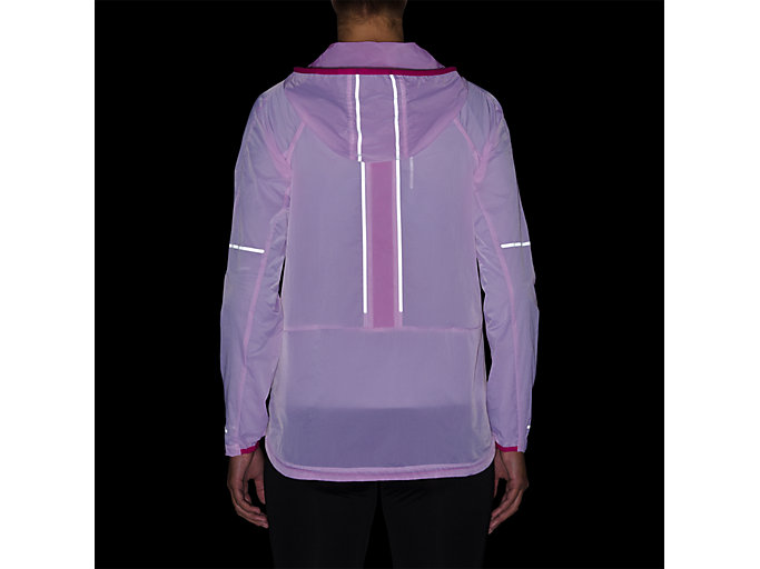 Alternative image view of LITE-SHOW JACKET, PINK RAVE