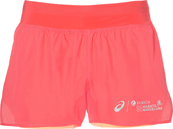 COOL 2-N-1 3.5IN SHORT, CORALICIOUS