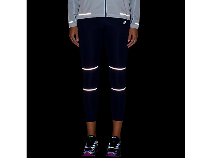 Alternative image view of LITE-SHOW 7/8 LEGGINS, INDIGO BLUE