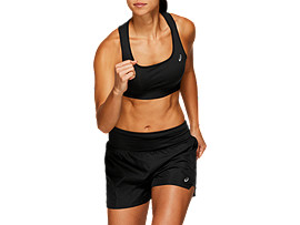 Front Top view of BRA, SP PERFORMANCE BLACK