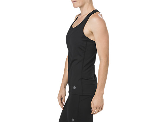FITTED TANK SHADOW PERFORMANCE BLACK