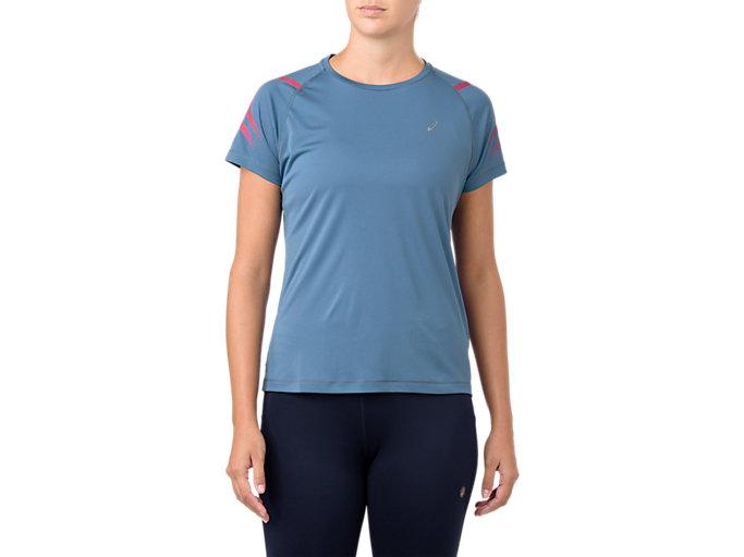 Women's ICON SS TOP | AZUREPIXEL PINK | Short Sleeve Tops