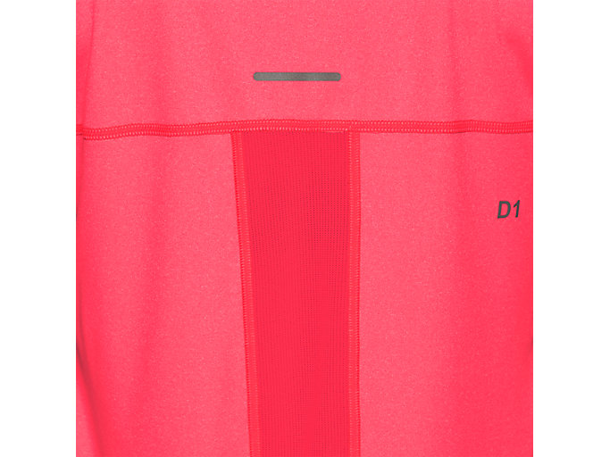 Alternative image view of CAPSLEEVE TOP, LASER PINK HEATHER