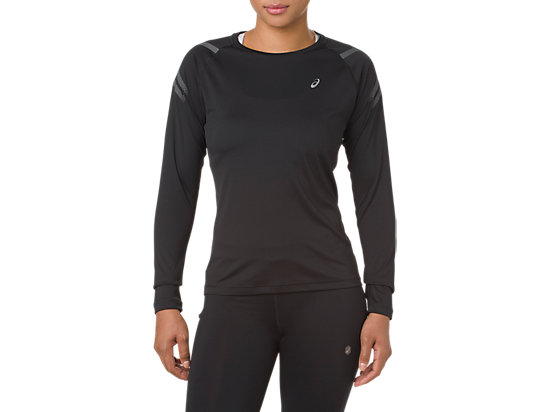 ICON LS TOP, PERFORMANCE BLACK