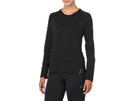 SEAMLESS LS, PERFORMANCE BLACK