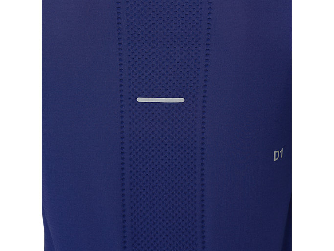Alternative image view of SEAMLESS LS, INDIGO BLUE