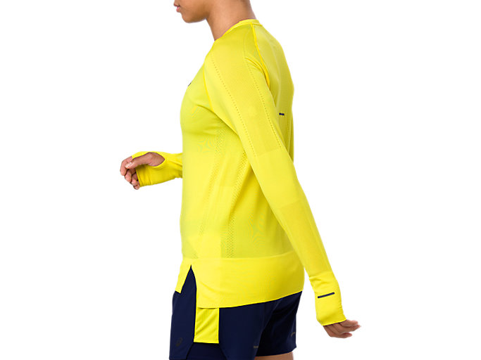 Side view of SEAMLESS LS, LEMON SPARK