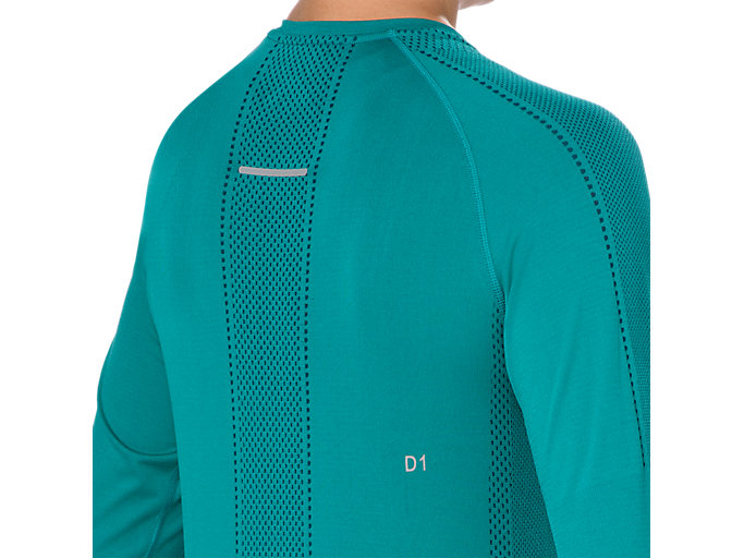Alternative image view of SEAMLESS LS, LAKE BLUE