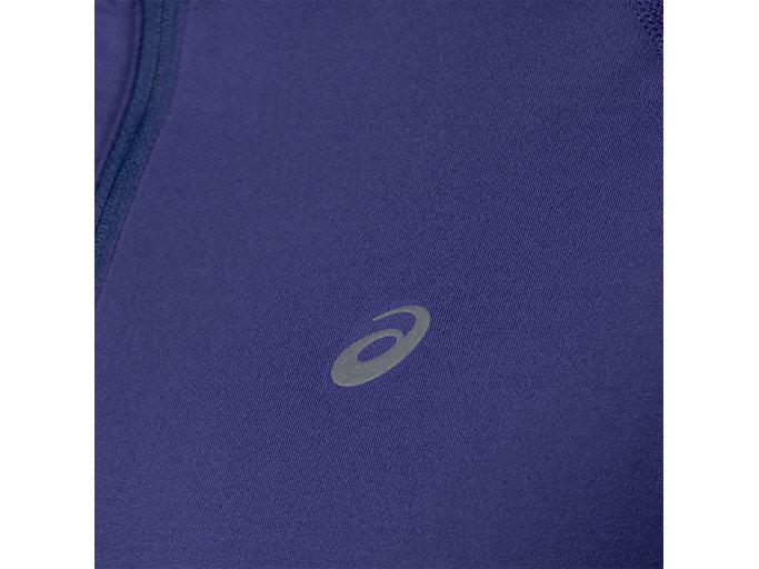Alternative image view of THERMOPOLIS LS 1/2 ZIP, INDIGO BLUE