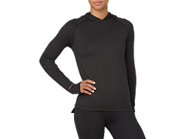 THERMOPOLIS LA HOODIE, PERFORMANCE BLACK