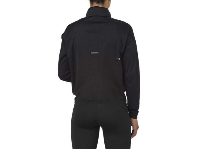 Back view of GIACCA ACCELERATE, PERFORMANCE BLACK