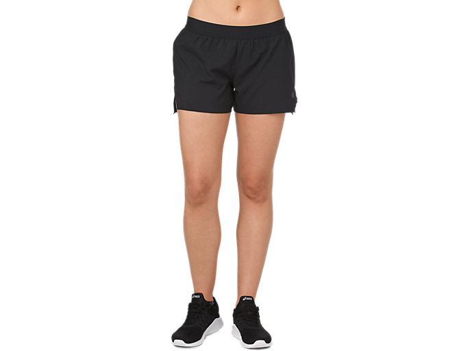 3.5IN SHORT WOVEN, PERFORMANCE BLACK