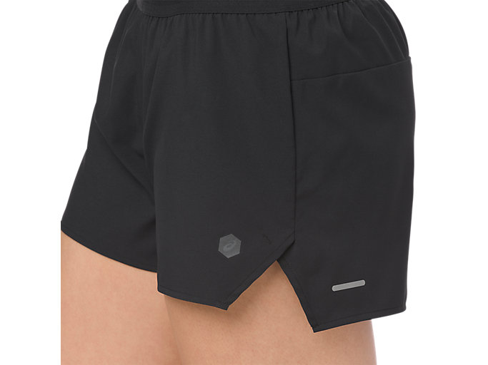 Alternative image view of 3.5IN SHORT WOVEN, PERFORMANCE BLACK