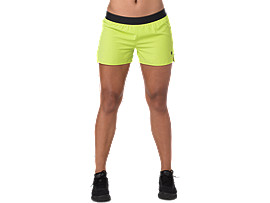3,5IN SHORT WOVEN, NEON LIME HEATHER