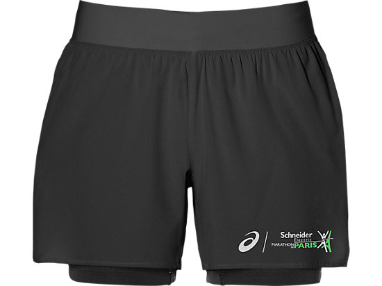 2-N-1 5.5IN SHORT, BLACK