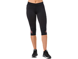 ICON KNEE TIGHT, PERFORMANCE BLACK / CORALICIOUS