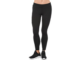 Knöchellange Trainings-Tight für Damen, PERFORMANCE BLACK