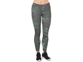 Knöchellange Trainings-Tight für Damen, SHADOW CARBON
