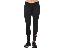 ICON TIGHT, PERFORMANCE BLACK / CORALICIOUS