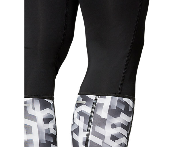 Alternative image view of HIGH WAIST TIGHT, PERFORMANCE BLACK/HEX TYPE BRILLIANT WHITE
