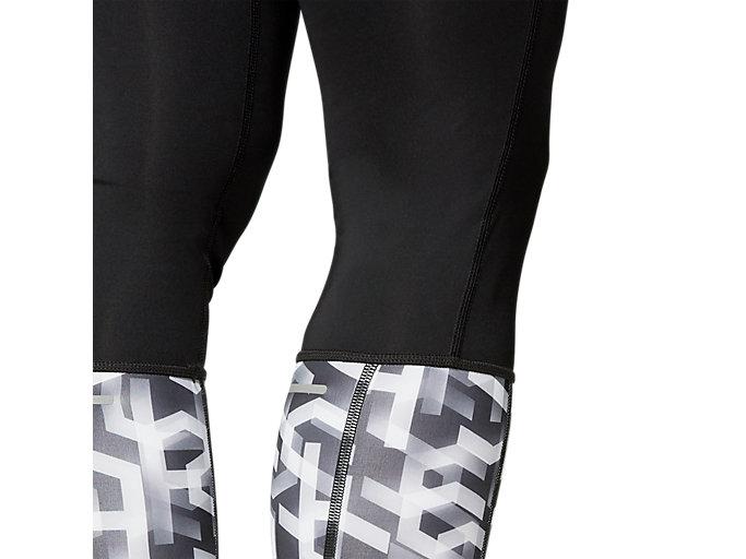 Alternative image view of HIGHWAIST TIGHT, PERFORMANCE BLACK/HEX TYPE BRILLIANT WHITE