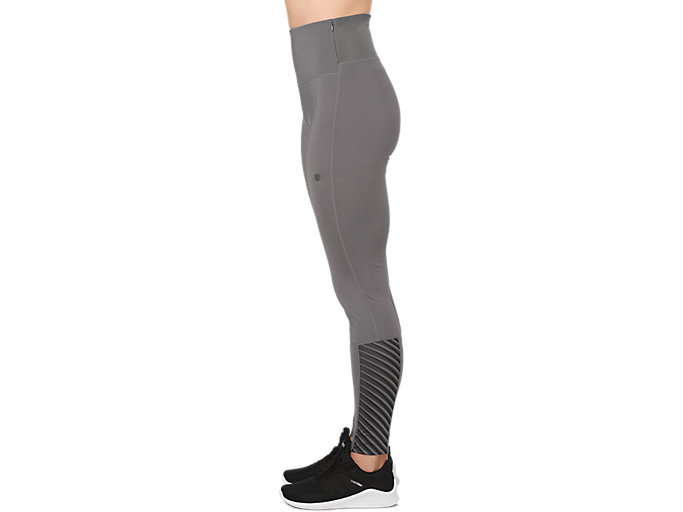 Alternative image view of HIGHWAIST TIGHT, CARBON / LINEAR CARBON