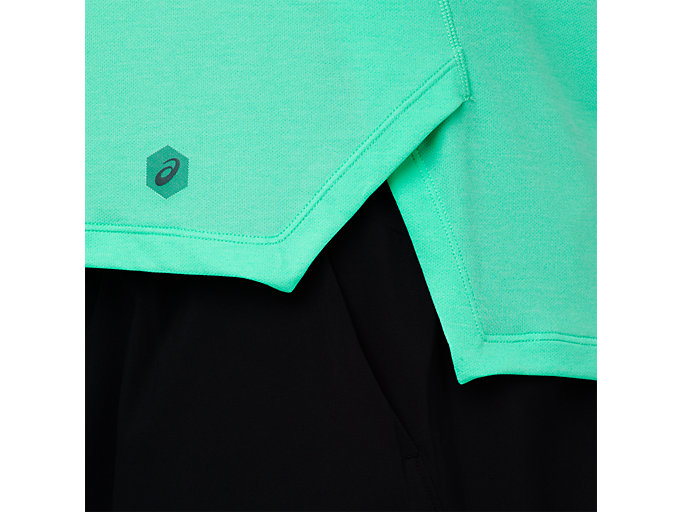 Alternative image view of LITE-SHOW SLEEVELESS, OPAL GREEN