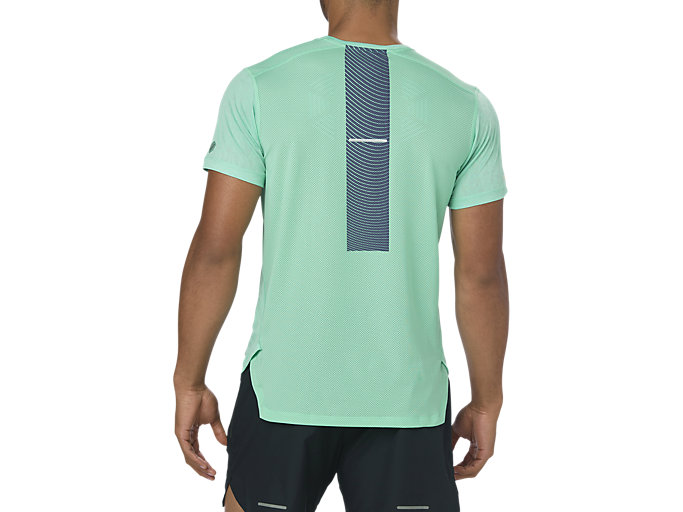 Back view of GEL-COOL SS TOP, OPAL GREEN