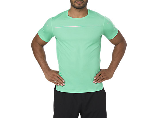 LITE-SHOW SS TOP, Opal Green