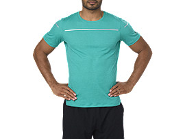 LITE-SHOW SHORT SLEEVED TOP