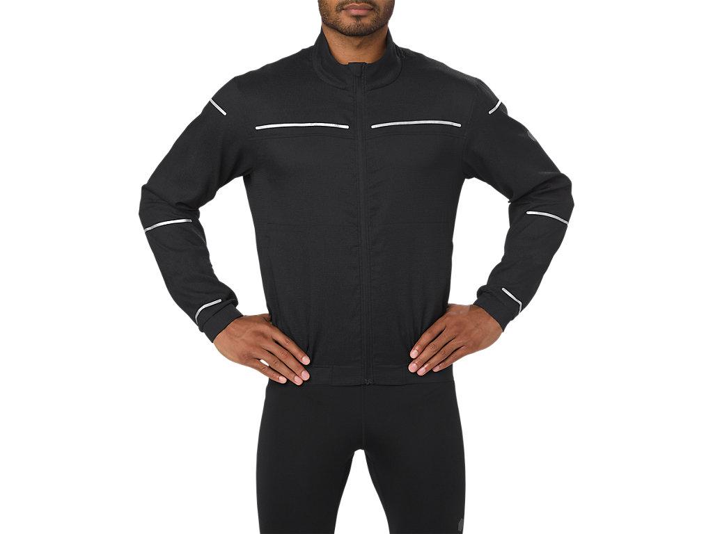 e509e1589e Chaqueta de running Lite-show para hombre | Men | PERFORMANCE BLACK ...