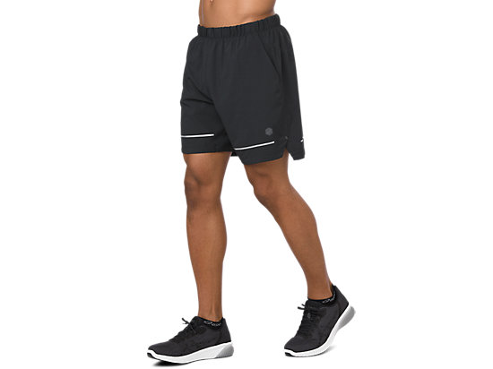 LITE-SHOW 7IN SHORT PERFORMANCE BLACK