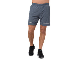 LITE-SHOW 7IN SHORT, DARK BLUE HEATHER
