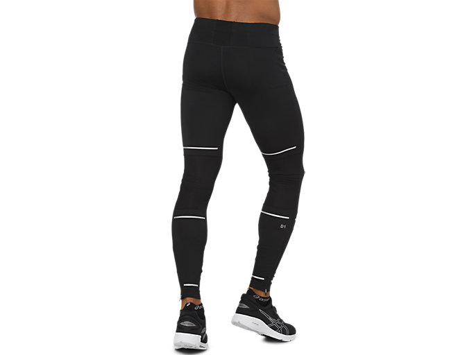 Back view of LITE-SHOW TIGHT, PERFORMANCE BLACK