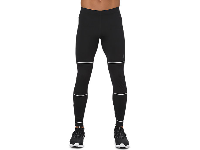 Front Top view of LITE-SHOW TIGHT, PERFORMANCE BLACK