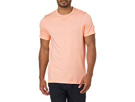 SEAMLESS SS, APRICOT ICE HEATHER