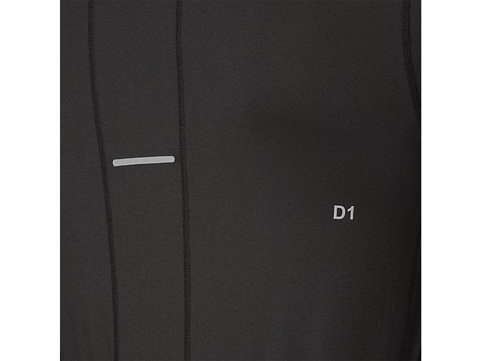 Alternative image view of LS 1/2 ZIP JERSEY, PERFORMANCE BLACK