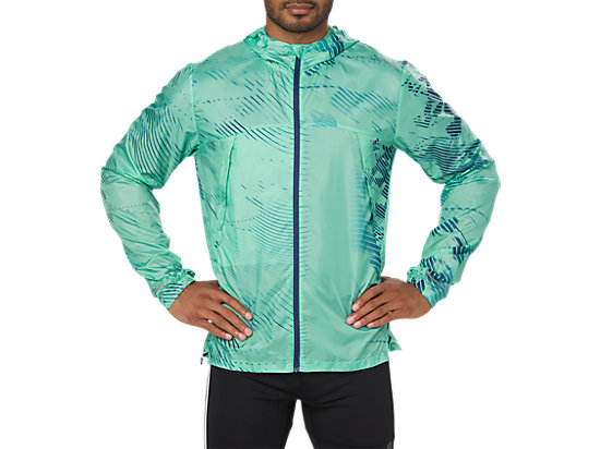 VESTE REPLIABLE, SHADOW OPAL GREEN