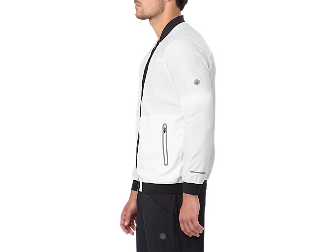 Alternative image view of BOMBER JACKET, BRILLIANT WHITE
