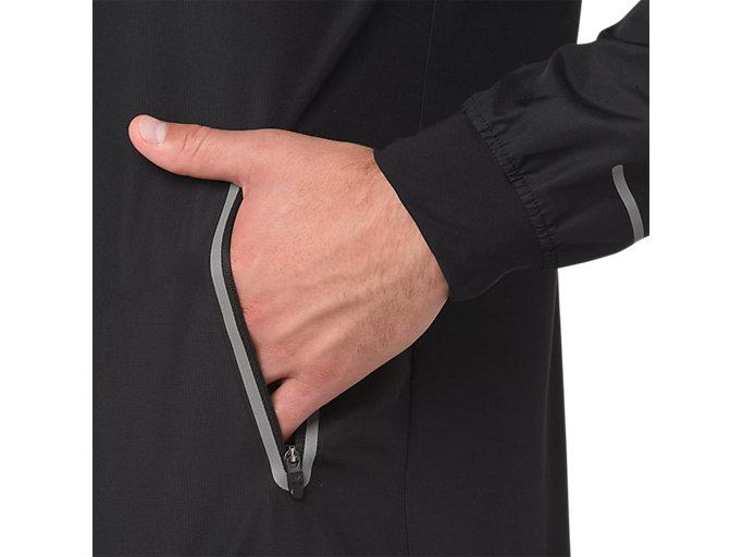 Alternative image view of BOMBER JACKET, PERFORMANCE BLACK