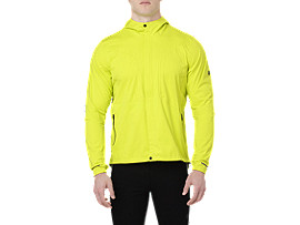 Front Top view of ACCELERATE JACKET, SULPHUR SPRING
