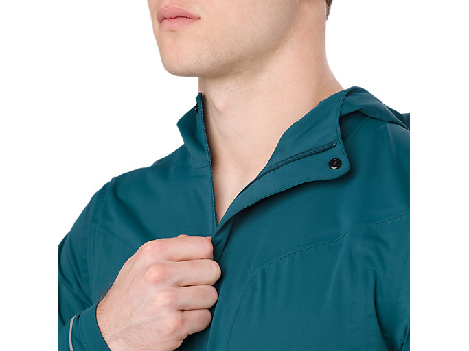 Alternative image view of ACCELERATE JACKET, BLUE STEEL