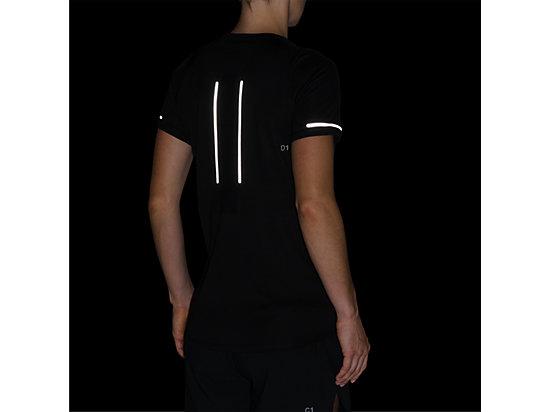 LITE-SHOW女短袖T恤 PERFORMANCE BLACK
