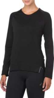 女無縫線長袖T恤