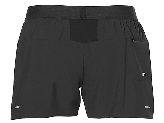 3.5IN SHORT WOVEN PERFORMANCE BLACK