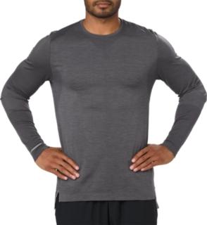 無縫線長袖T恤